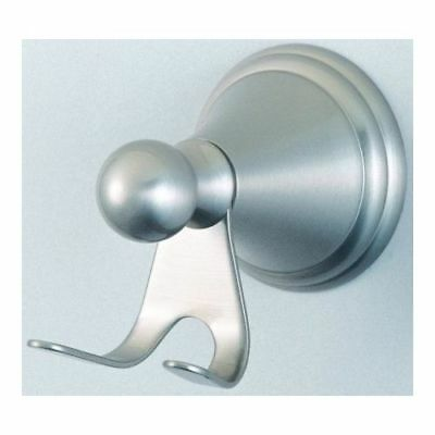 Kingston Brass BA2977 Satin Nickel Governor Double Hook Robe Hook