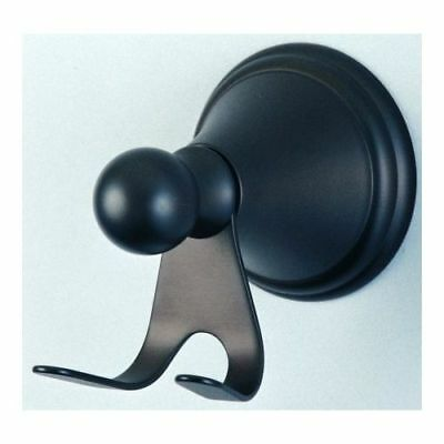 Kingston Brass BA2977 Oil Rubbed Bronze Governor Double Hook Robe Hook