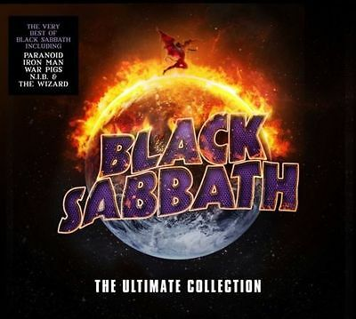 BLACK SABBATH The Ultimate Collection 2CD NEW Digipak Ozzy Osbourne Best Of