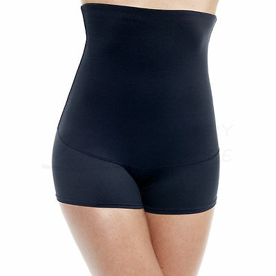 17a3ecfb726 FLEXEES 2107 FAT Free Dressing Hi-Waist Boyshort Panty 2XL XXL Black ...