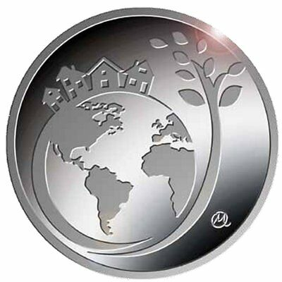 """2017 Greece 6 Euro Silver Proof Coin """"International Year of Sustainable Tourism"""""""