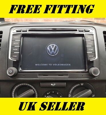 VW SAT NAV DVD Player Android Bluetooth Golf MK5 MK6 R32 GTI GTD TDI TSI GPS SE