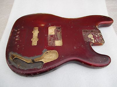 1958 Fender Precision Bass Usa Body