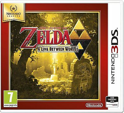Nintendo 3DS Jeu THE LEGEND OF ZELDA: A LIEN Between Worlds 2DS COMPATIBLE