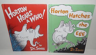 Dr. Suess Horton Hatches the Egg, Horton Hears a Who! Large Hardcover