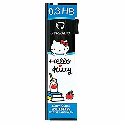 [Limited Edition] Hello Kitty del guard pencil core replacement 0.3mm LD