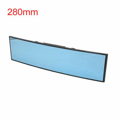 280mm Length Blue Glass Panoramic Curved Vehicle Car Interior Rear View Mirror