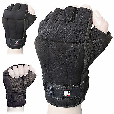 Sporteq 0.5Kg / 1lb Weighted Workout Gloves Cardio Gym Training Exercise Boxing