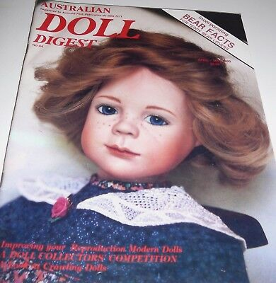 Australian Doll Digest Issue # 44 April - May 1993 Crawling Dolls Bear Facts