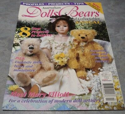 Australian Dolls, Bears and Collectables Vol. 10 No. 4 Annual Projects