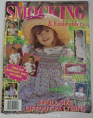 Australian Smocking & Embroidery No. 26 Spring 1993 Romantic Nightwear, Collars