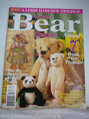 Australian Bear Creations Annual Vol. 11 No 1- Bears from Middle Earth