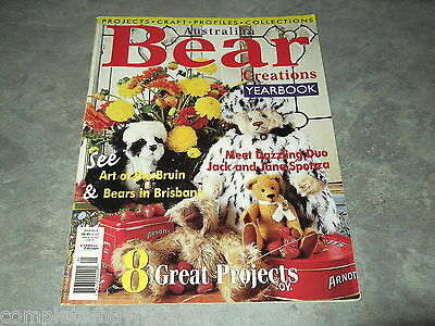 Australian Bear Creations Vol 6 No. 4 Yearbook soft toys