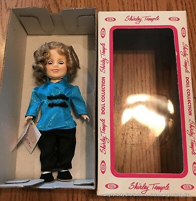 "Excellent 1982 Ideal Shirley Temple 7.5"" Doll Little Stowaway NRFB IOB"