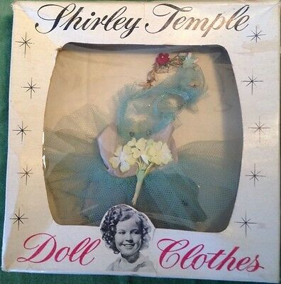 SHIRLEY TEMPLE BALLERINA OUTFIT & FLORAL HEADBAND FOR ST-12 DOLL w/ BOX *