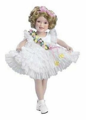 "SHIRLEY TEMPLE 10"" BABY TAKE A BOW MOVIE CLASSICS DANBURY MINT DOLL w/ BOX"