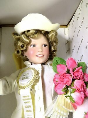 SHIRLEY TEMPLE THE LITTLEST GRAND MARSHALL DANBURY MINT DOLL w/ BOX