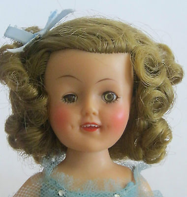 SHIRLEY TEMPLE ST-12  BALLERINA  DOLL w/ ORIGINAL OUTFIT & SILVER SHOES   **