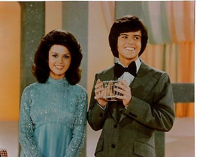 Donny And Marie Osmond 8x10 glossy photo F8023