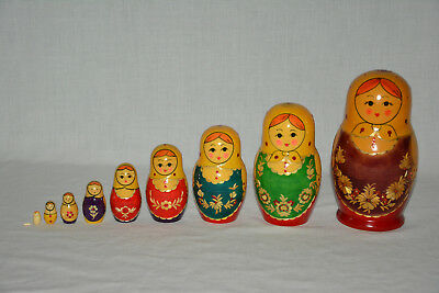 Matrjoschka Matroschka Matruschka Holzpuppen Wooden Doll