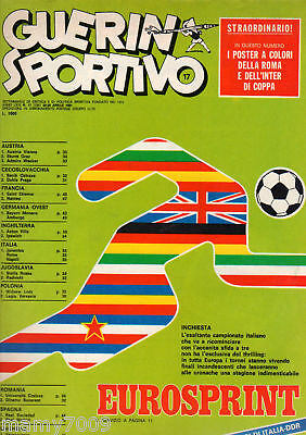 Guerin Sportivo=N°17 1981=Poster Inter=Blues Band