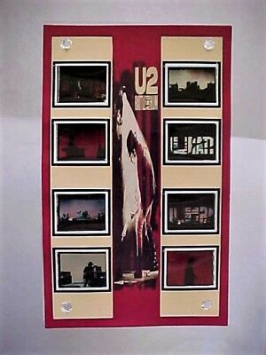 U2 RATTLE HUM TOUR Film Frame Cell Movie Display