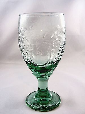 Libbey Orchard Fruit Green Glass Ice Tea Goblet(S)