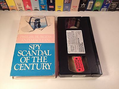 Philby, Burgess And Maclean: Spy Scandal Of The Century VHS 1977 TV Movie Drama