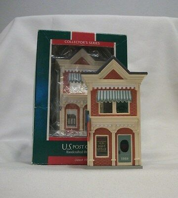 U.S. POST OFFICE Hallmark Nostalgic Houses and Shops Series w/Box and Price #6