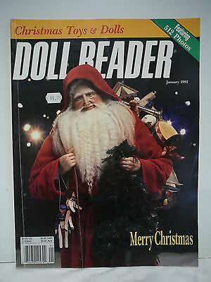 Doll Reader January 1992 Christmas Toys French Celluloid Dolls, 1914 dolls