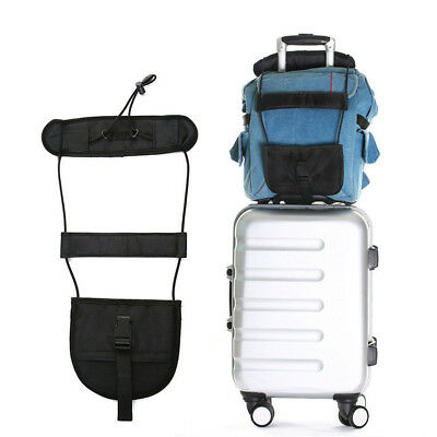 Travel Luggage Suitcase Adjustable Tape Belt Add A Bag Strap Carry On Bungee