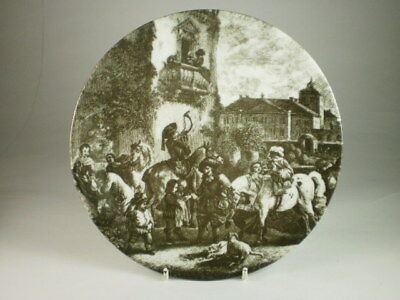 Lichte Gdr Hunt In Town Display Plate