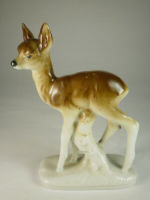 Vintage German Small Fawn Figurine