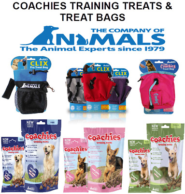 Coachies Puppy Adult Dog Training Treats Bag Naturals Chicken Beef Lamb 75g 200g
