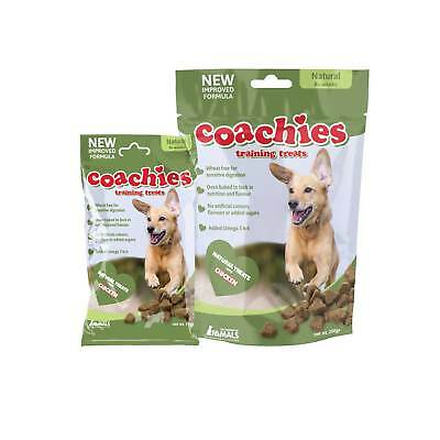 New Company of Animals Coachies Training Treats - 75g 200g Naturals with Chicken