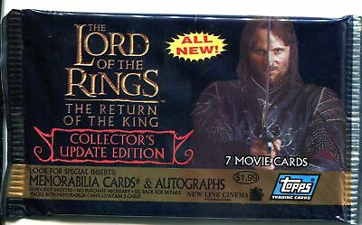 Lord Of The Rings The Return Of The King Update Sealed Hobby Packet / Pack