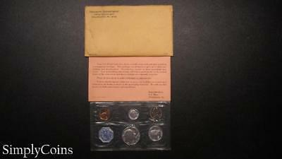 1964 Proof Set ~ Original Envelope With COA ~ US Mint Silver Coin Lot SKU-868