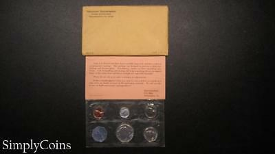 1964 Proof Set ~ Original Envelope With COA ~ US Mint Silver Coin Lot SKU-869