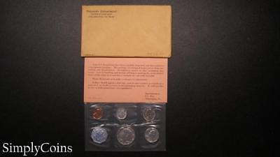 1964 Proof Set ~ Original Envelope With COA ~ US Mint Silver Coin Lot SKU-870