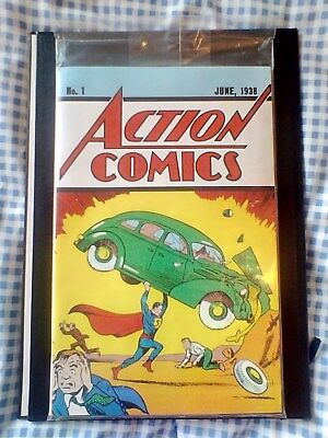 Action Comics 1 reprint, 1st App of Superman, Loot Crate Lootcrate sealed new