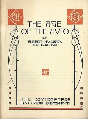 Auto Brochure - The Age of the Auto Elbert Hubbard General Motors 1956 (A1298)