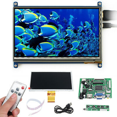 7 inch LCD Display With Case 1024x600 Screen monitor For Raspberry pi 3 model B