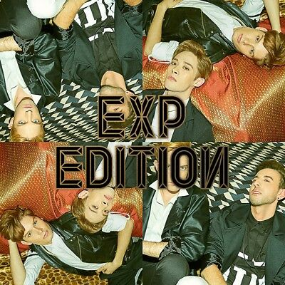 EXP EDITION - FIRST EDITION (1st Mini Album) CD+Booklet+Photocard
