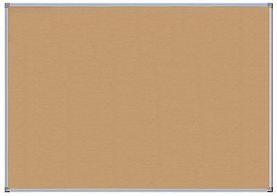Premium Aluminium Metal Framed Cork Notice Board 900 x 600mm Pin Corkboard Sign