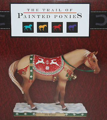 The Trails of Painted Ponies Christmas Mr Winder Horse Figure 4027278D NIB