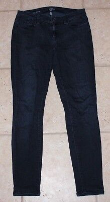 Ann Taylor LOFT Womens 26/2 Super Skinny Dark Wash Jeans