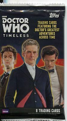 Doctor Who Timeless Factory Sealed Hobby Pack