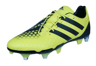 adidas Predator Incurza SG Mens Rugby Boots - Yellow Black - RRP: £164.95