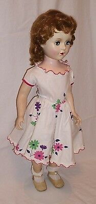 American Character Sweet Sue walker doll walker 20 inches 1950s School Girl