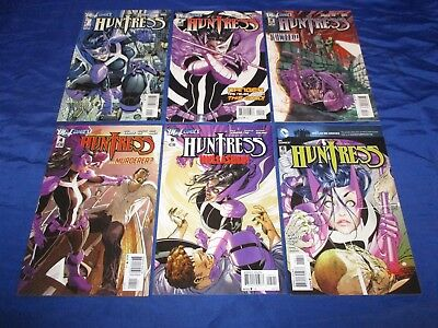 Huntress (2011) #1-6 1st Prints Complete Set Paul Levitz Marcus To John Dell NM